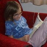 Brenia reading
