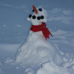 The Girls' Little Snowman